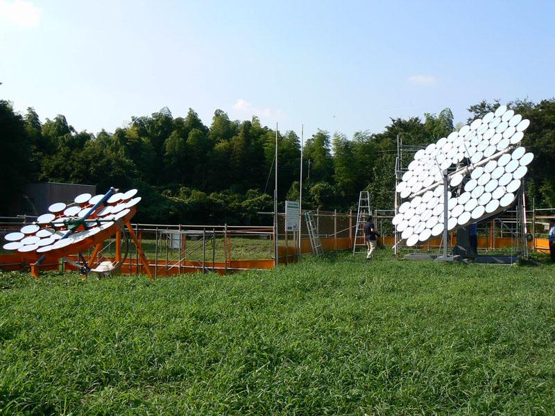 Robot Watch-ニュース--三鷹光器と国立天文台、太陽を追尾する ...